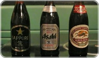 瓶ビールSAPPORO・asahi・KIRIN